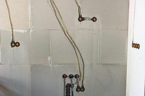 Installatieleidingen in wanden en plafonds