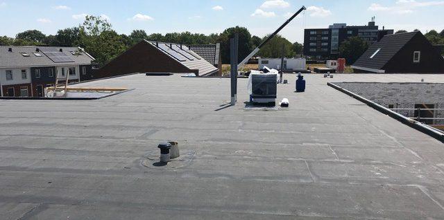Aanbrengen dakbedekking