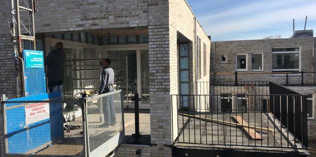 Balkon boven terras